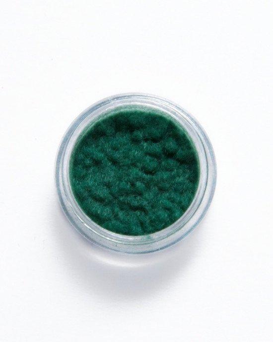 Кашемир для ногтей темно-зеленый