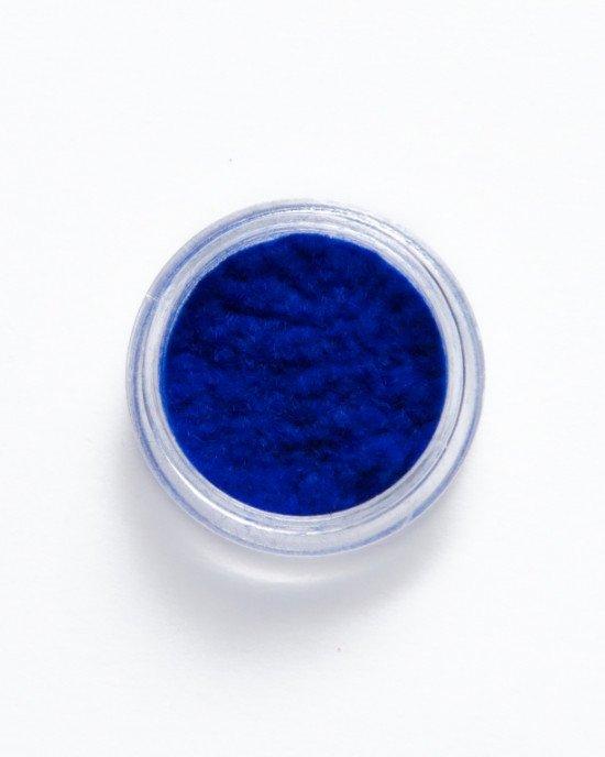 Кашемир для ногтей темно-синий