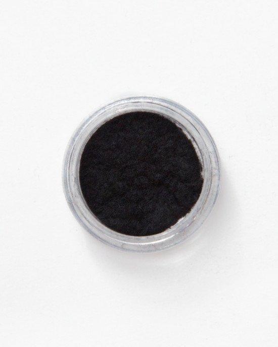 Кашемир для ногтей черный