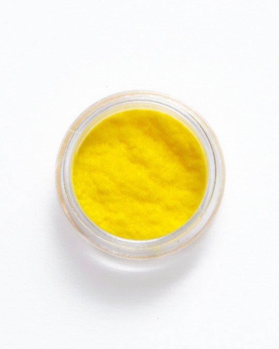 Кашемир для ногтей желтый