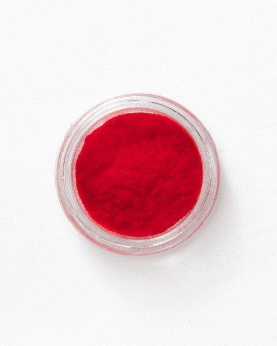 Кашемир для ногтей красный
