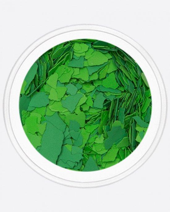 Акрил раскатанный салатовый, светло-зеленый