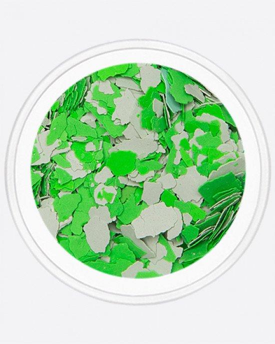 Акрил раскатанный серый, зеленый