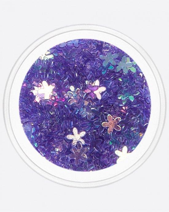 Цветочек тонкий фиолетовый
