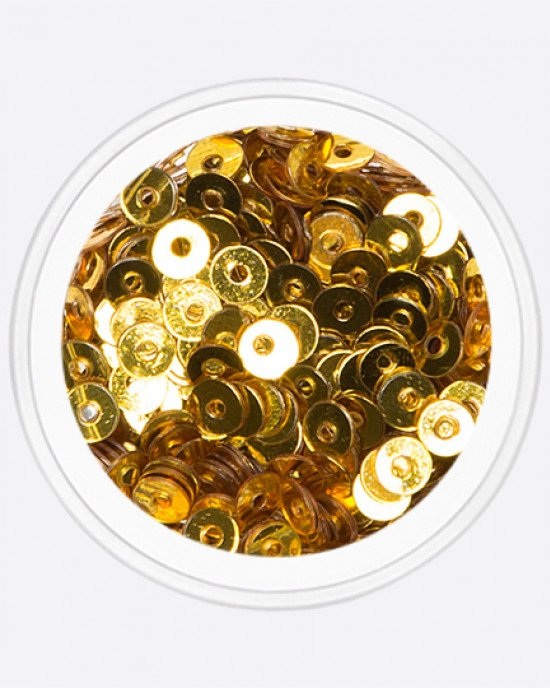 Шайбы темно-золотой