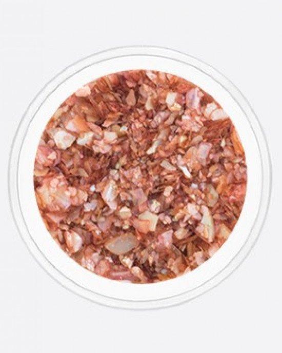 Опал дробленый коричнево-розовый