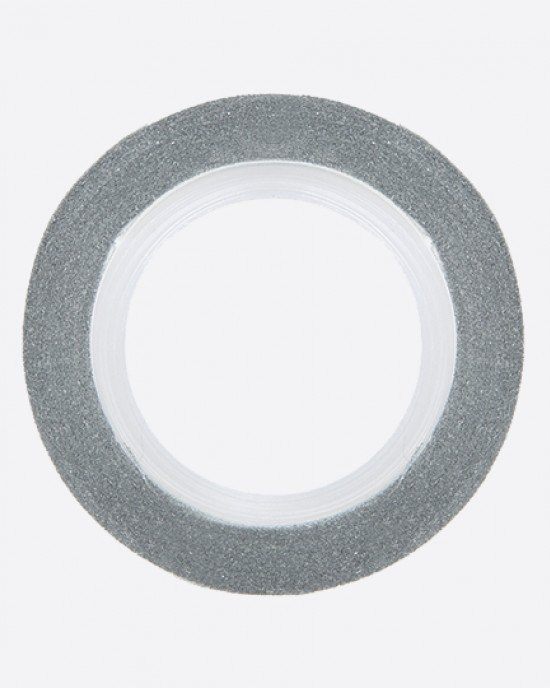 Лента клейкая серебро 1мм