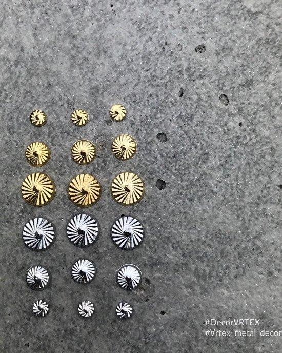 Диск граненный золото 3х3 мм