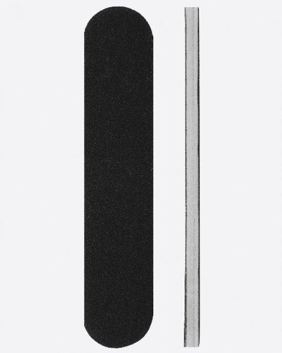 Пилка черная мини овал 90х19х3мм 180/220 грит