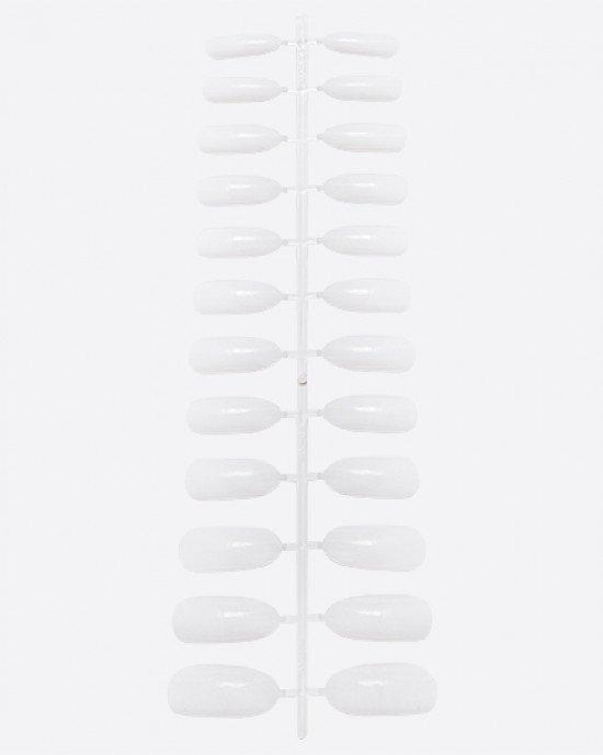 Типсы белые на платформе