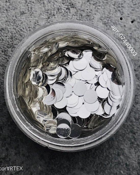 Диски, серебро Ø 3мм