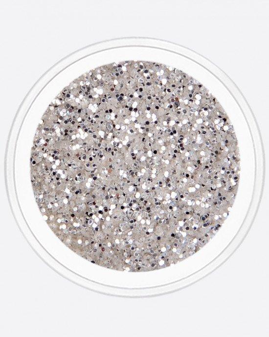 Блестки, серебро Ø 0,5мм
