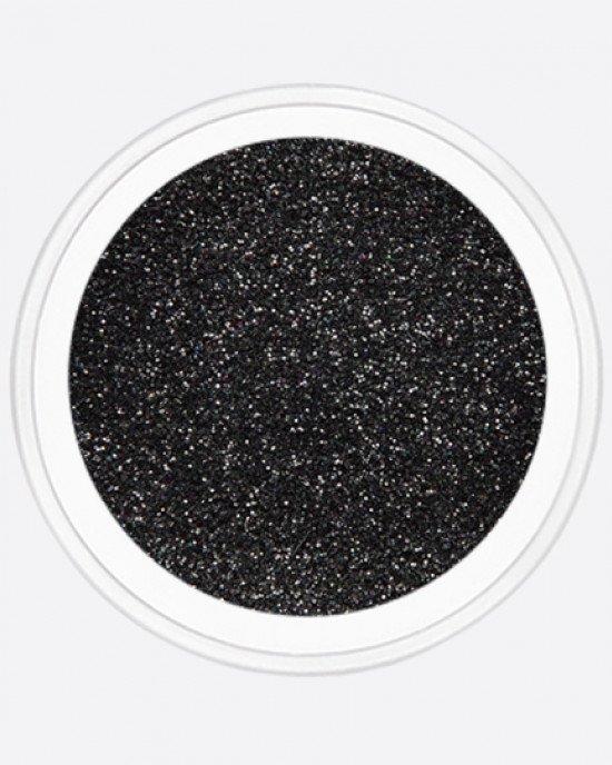 Блестки пыль, черный, радужный
