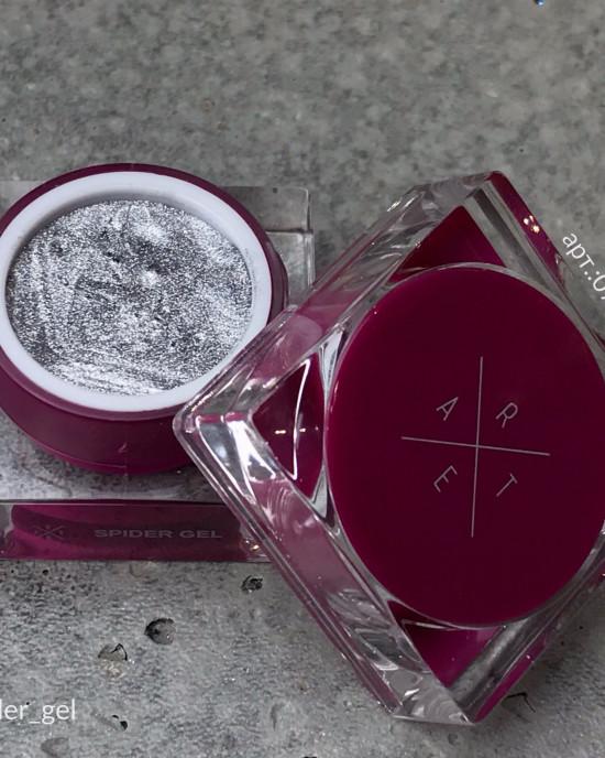 ARTEX spider gel silver 5 мл
