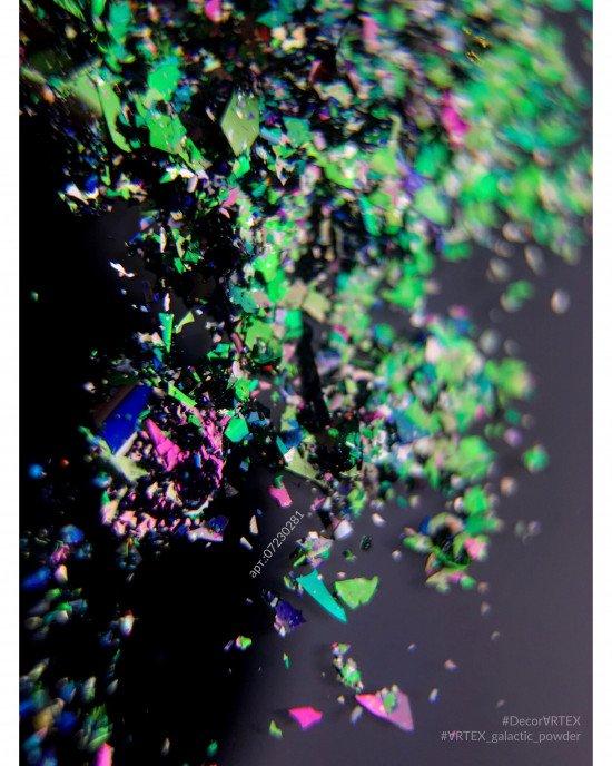 Зеркальная пыль галактик (втирка) 281