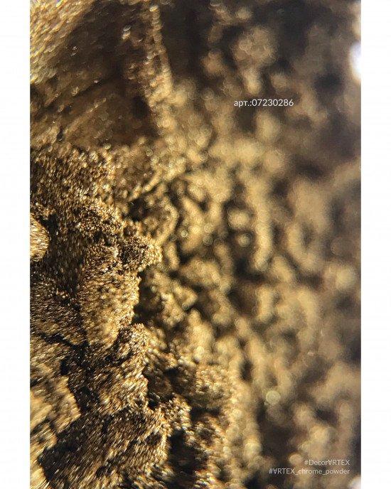 Зеркальная пыль хром (втирка) 286