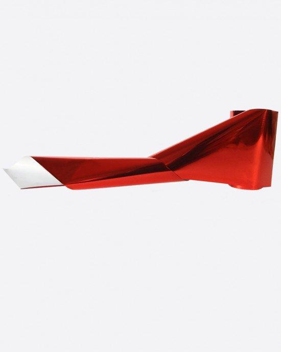 Фольга металлик красная тонкая 293