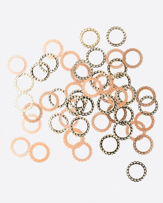 ARTEX кружевной круг золото Ø 5,7 мм 0,2 гр.
