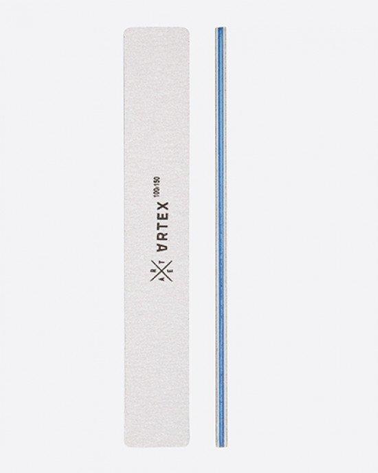 ARTEX пилка для ногтей зебра прямоугольной формы 100/150 грит