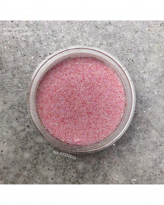Блестки пыль светло-розовые 016