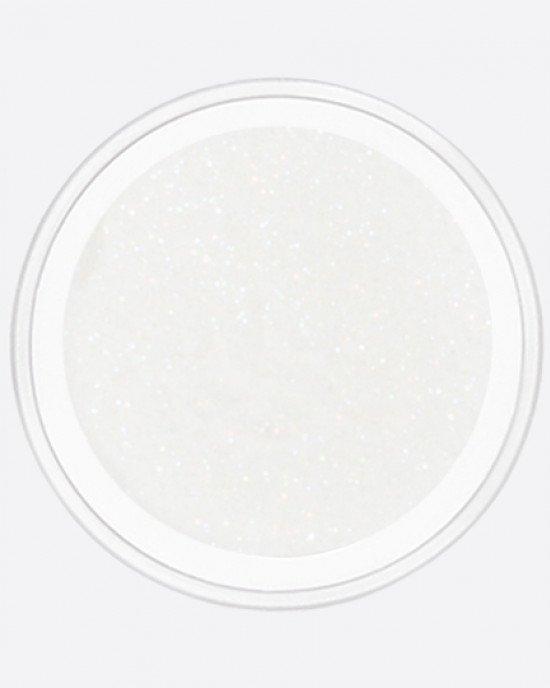 Мерцающая пыль белый с цветным отливом