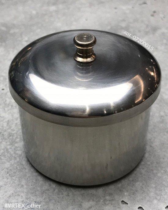 Стаканчик с крышкой металлический, maxi
