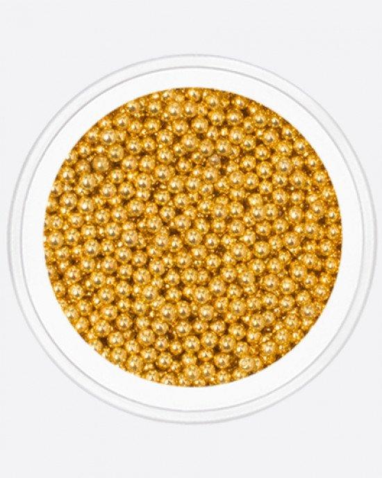 Бульонка, желтое золото 1,2мм
