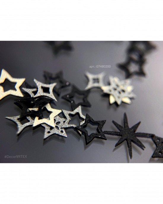 Декор звезды 200